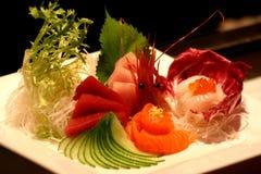 Sushi-Mehrlagenplatte Stockfotos