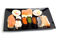 Sushi-menu Stock Photography