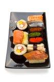 Sushi-menu Royalty-vrije Stock Afbeeldingen