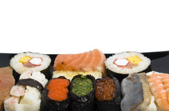 Sushi-menu Stock Fotografie