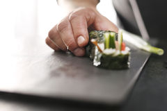 Sushi menu Royalty Free Stock Photos