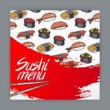 Sushi menu - 3 Stock Photography