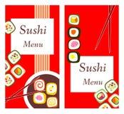 Sushi menu. Stock Photo