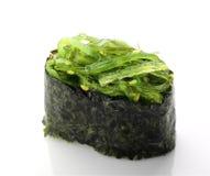 Sushi met salade Stock Foto