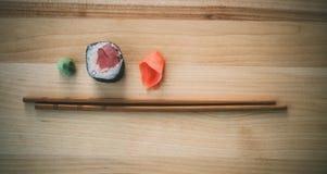 Sushi met tonijn Stock Afbeelding