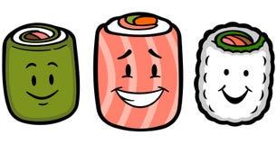 Sushi mignons Photographie stock libre de droits