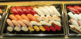 Sushi misti Immagine Stock Libera da Diritti
