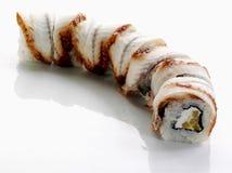 Sushi mit Aal Lizenzfreies Stockfoto
