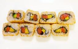 Sushi mit Avocado 1 Lizenzfreies Stockfoto
