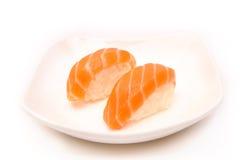 Sushi mit einem Lachs Stockfoto
