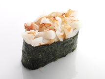 Sushi mit Garnele Stockfotografie
