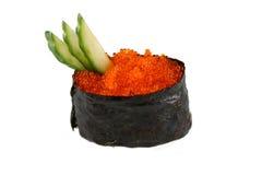 Sushi mit Kaviar Lizenzfreies Stockfoto