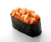 Sushi mit Lachsen Lizenzfreies Stockfoto