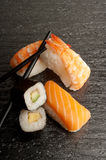 Sushi mix Stock Photo