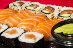 Sushi mix Stock Photos