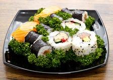 Sushi mixed Stock Photos
