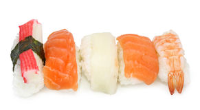 Sushi mixed Stock Photo