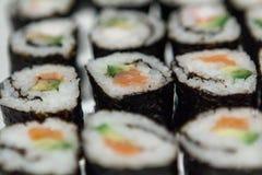 Sushi-Nahaufnahme 2 Lizenzfreie Stockbilder