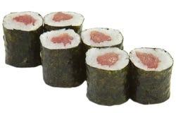 Sushi nazionali giapponesi dell'alimento Fotografie Stock