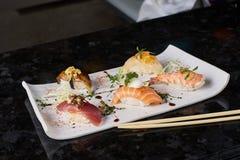 Sushi nigire set Stock Photo