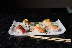 Sushi nigire set Stock Photography