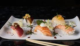 Sushi nigire set Royalty Free Stock Photography
