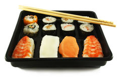 Sushi and nigiri Royalty Free Stock Photo