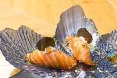 Sushi nigiri with truffle Stock Image