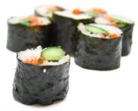 Sushi nori on a white Royalty Free Stock Photo