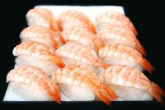 Sushi, nourriture japonaise Photographie stock libre de droits