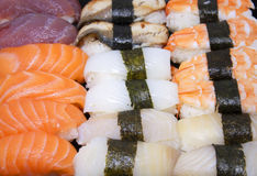 Sushi Nourriture japonaise Photo libre de droits