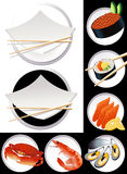 Sushi_objects Stock Photography