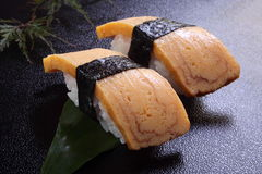 Sushi omelet Royalty Free Stock Photos