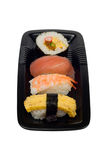Sushi On A Plate Royalty Free Stock Image
