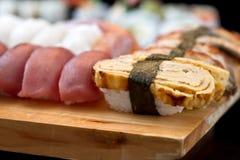 Sushi On Tray Stock Photo