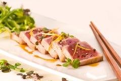Sushi op plaat Stock Afbeeldingen