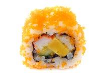 Sushi på plattan Royaltyfria Bilder