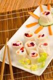 Sushi para crianças Fotos de Stock Royalty Free