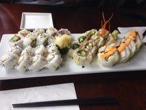 Sushi para el almuerzo fotos de archivo libres de regalías