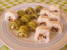 Sushi para os povos que não gostam do sushi Fotografia de Stock Royalty Free