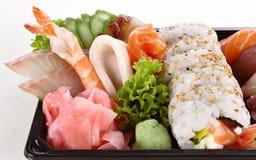 Sushi party tray Royalty Free Stock Photo
