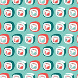 Sushi pattern Royalty Free Stock Image