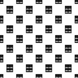 Sushi pattern vector. Sushi pattern seamless in simple style vector illustration royalty free illustration