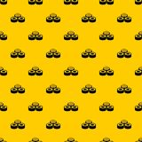 Sushi pattern vector. Sushi pattern seamless vector repeat geometric yellow for any design vector illustration