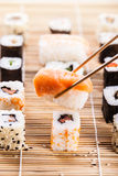 Sushi perfetti Immagine Stock Libera da Diritti