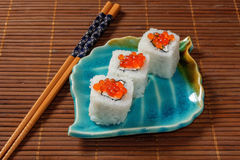 Sushi, petits pains Image libre de droits
