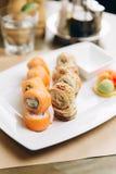 Sushi Philadelphia stockfotografie