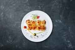 Sushi Philadelphia real Comida japonesa imagen de archivo libre de regalías