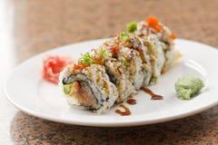 Sushi Philadelphia Roll Royalty Free Stock Images