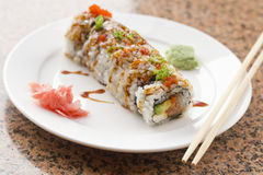 Sushi Philadelphia Roll Stock Photo